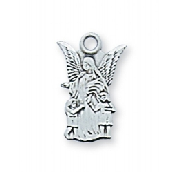 STERLING SILVER GUARDIAN ANGEL