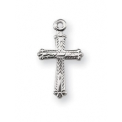 Sterling Silver Miraculous Cross