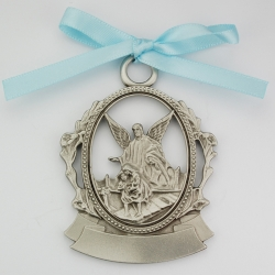 ENGRAVABLE PEWTER CRIB MEDAL