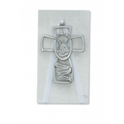 GUARDIAN ANGEL CROSS GREY CARD