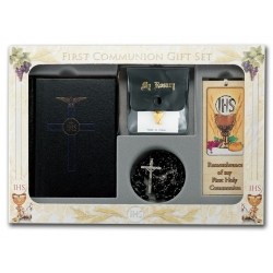 6-PIECE DELUXE FIRST COMMUNION GIFT SET