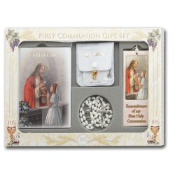 CHILD OF GOD GIRL'S 6-PIECE FIRST COMMUNION GIFT SET