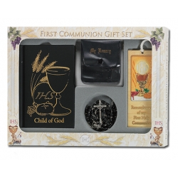 CHILD OF GOD BOY'S DELUXE FIRST COMMUNION GIFT SET