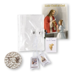 CHILD OF GOD GIRL'S 5-PIECE FIRST COMMUNION GIFT SET
