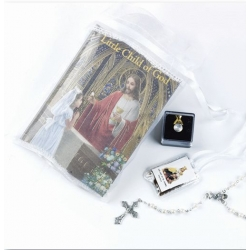 CHILD OF GOD GIRL'S FIRST COMMUNION GIFT SET