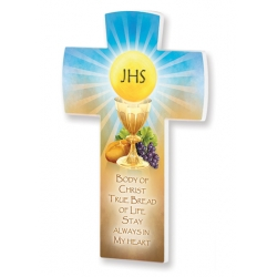 SATIN FINISH COMMUNION CROSS