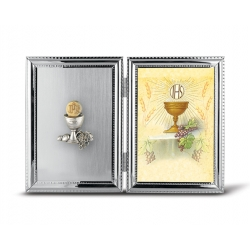 SILVER PLATE COMMUNION CHALICE FRAME