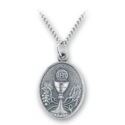 COMMUNION MEDAL ON CHAIN
