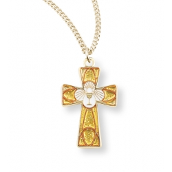 ENAMELED EUCHARIST CROSS