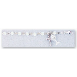 FIRST COMMUNION ROSARY BRACELET