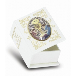 COMMUNION KEEPSAKE ROSARY BOX