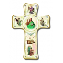 PEARLIZED EVANGELIST CROSS 6