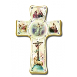 PEARLIZED EASTER CROSS 6