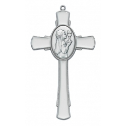 WHITE ENAMELED COMMUNION GIRL