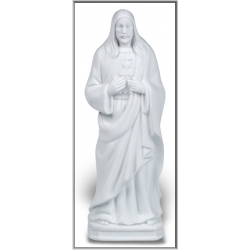 WHITE SACRED HEART OF JESUS NIGHTLIGHT