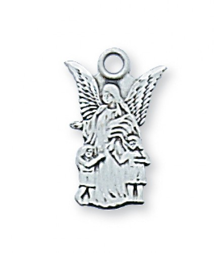 STERLING SILVER GUARDIAN ANGEL