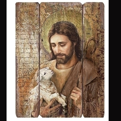 "26""H JESUS DECORATIVE PANEL MDP"