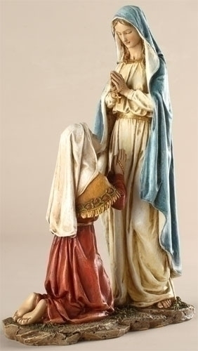 "10.5"" OUR LADY OF LOURDES FIGURE"