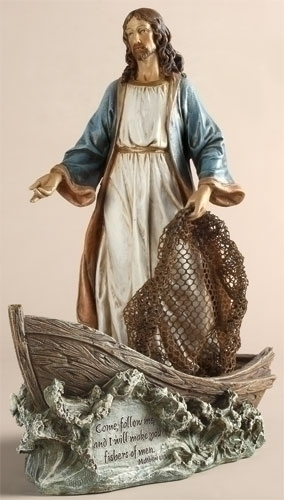 "11.25"" CHRIST THE FISHERMAN"