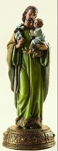 "10.25"" ST. JOSEPH FIGURE W/BASE"