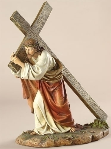 "11"" WAY OF THE CROSS FIGURE"