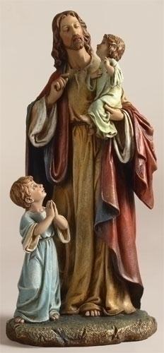 """10"""" JESUS WITH CHILDREN"""