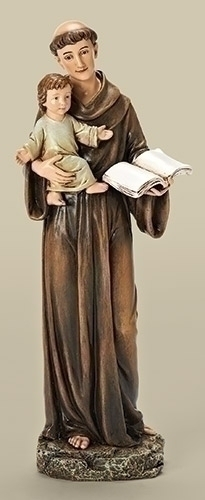 "10"" ST ANTHONY FIGURE"