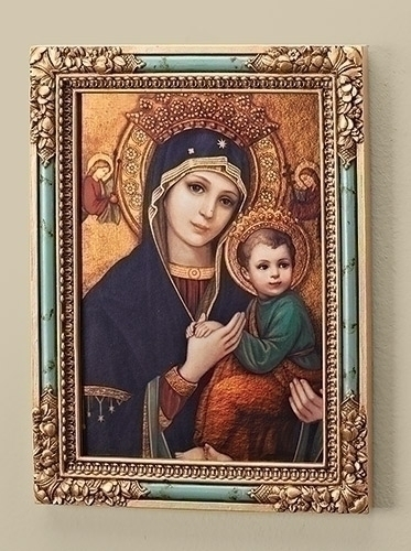 "7"" OUR LADY OF PERPETUAL HELP"