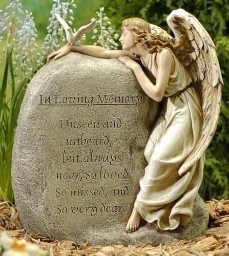 """11.25"""" MEMORIAL GARDEN ANGEL"""