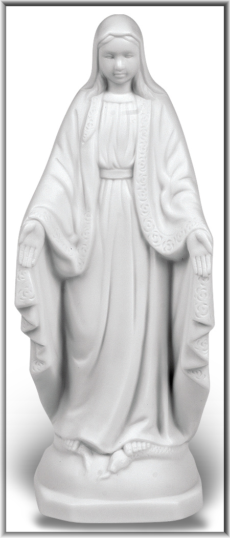 WHITE OUR LADY OF GRACE NIGHTLIGHT